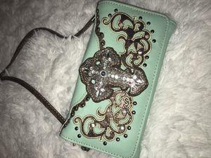 Wallet with cross body for Sale in Salt Lake City, UT