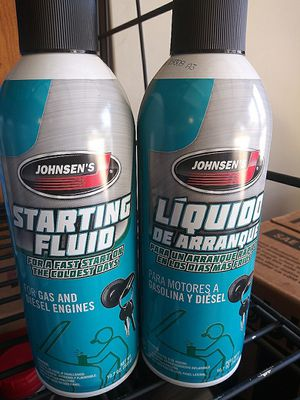 Johnsens starting fluid for Sale in Ontario, CA