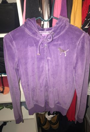 Pink zipper up hoodie (purple) for Sale in Annapolis, MD