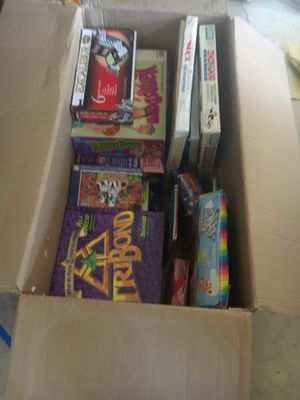 Box of games for Sale in Happy Valley, OR