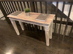 Beautiful rustic console/ buffet/entry table, for Sale in Chicago, IL