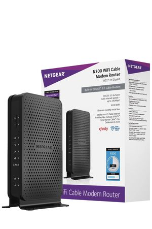 Netgear cable modem router for sale for Sale in San Francisco, CA