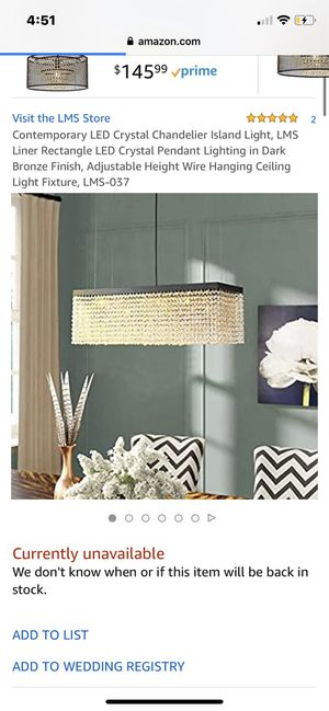Led chandelier for Sale in Chula Vista, CA