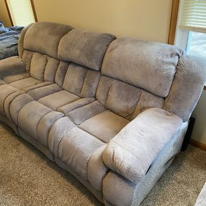 Wall Hugger Reclining Couch And Chair for Sale in Charter Township of Berlin, MI
