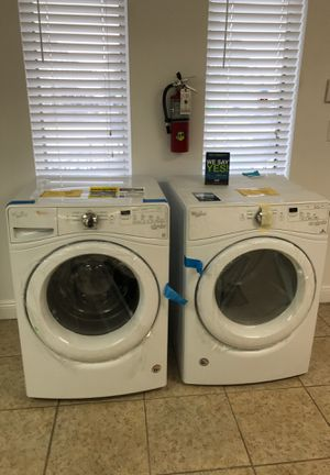 Whirlpool Front Load washer/Dryer Set NO CREDIT CHECK EZ FINANCING only $39 down take home for Sale in Miami, FL