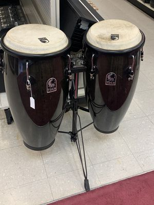 Toca Conga Drums w/Stand for Sale in Pflugerville, TX