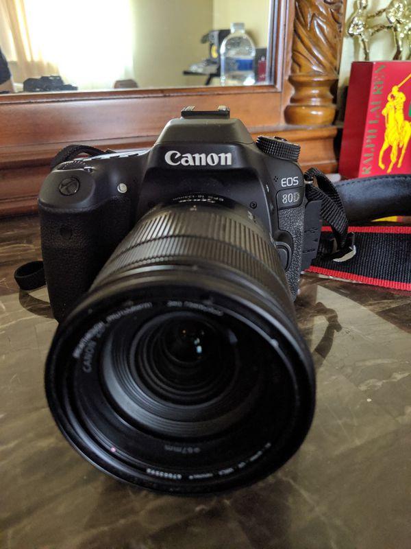 Canon 80 +extras