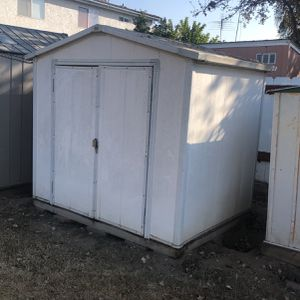 Vinyl Shed 7ft-10inch Wide 5 feet 8 Inch Deep 7 Ft 5 Inch Tall for Sale in South El Monte, CA