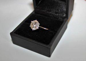 3.47 CARAT TIFFANY STYLE VS1 PLATINUM DIAMOND ENGAGEMENT WEDDING RING for Sale in Las Vegas, NV