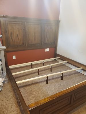 Rooms To Go- KING SIZE BED FRAME ONLY for Sale in Ennis, TX
