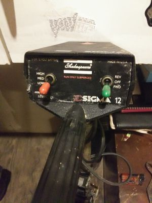 Shakespeare Sigma trolling motor for Sale in Chesapeake, VA