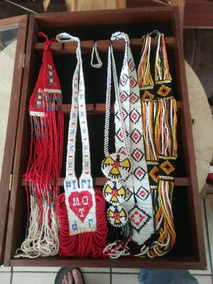 Native vintage seed bead necklaces for Sale in Phoenix, AZ