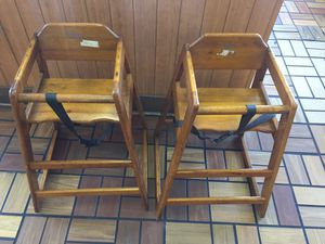 Wooden booster seats for Sale in Nashville, TN