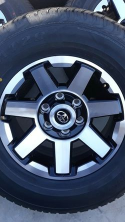 New 2021 Toyota 4runner TRD OFF ROAD WHEELS RIMS 100% TIRES for Sale in Torrance,  CA