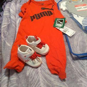 Baby Clothes Size 0 To 3 For My Sleeper 7 Piece Outfitl for Sale in Revere, MA