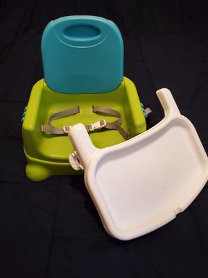 Fisher Price booster seat/portable high chair for Sale in San Jose, CA
