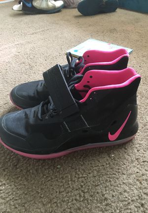 Brand new pink and black Air Force 72 size 12 men's lightly worn for Sale in Washington, DC