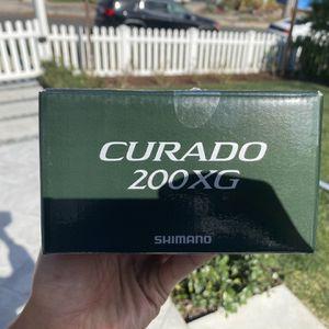 New Shimano Curado 200XG baitcast Reel for Sale in Los Angeles, CA