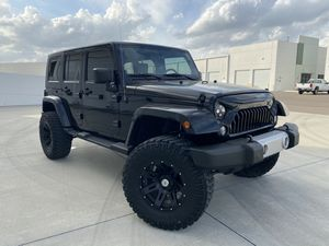 2008 Jeep Wrangler 4x4 Unlimited 88k Mikes for Sale in Winter Garden, FL