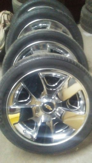 "20"" chevy wheels for Sale in Denver, CO"