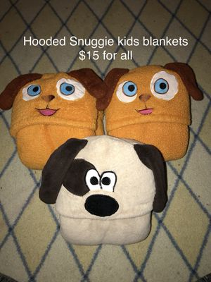 Toddler Hooded Towels and Snuggie Blankets for Sale in Grand Prairie, TX