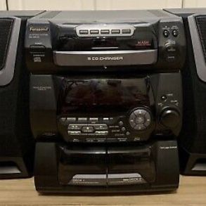 Decent Condition Vintage Panasonic SA-AK20 Radio, CD, Cassette Stereo System w/o remote for Sale in Denton, TX