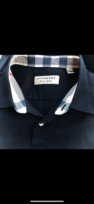 Burberry Button up shirt XL slim fit new without tags for Sale in Pasadena, CA