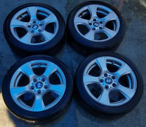 """2006-2011 BMW 328I 330I 325I 17"""" INCH OEM WHEEL RIM WITH TIRE for Sale in Fort Lauderdale, FL"""