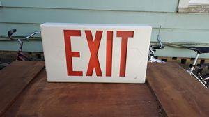 LED exit sign for Sale in Lakeland, FL