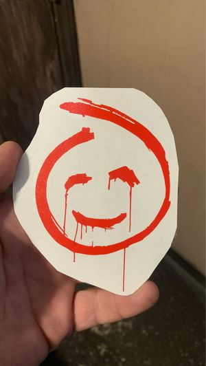 Red John sticke 3.5 x 3 inches for Sale in Fontana, CA