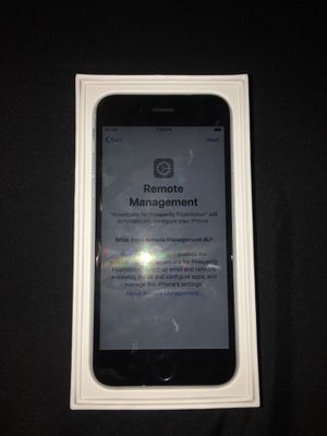 iPhone 6s (Remote Management Locked) for Sale in North Las Vegas, NV