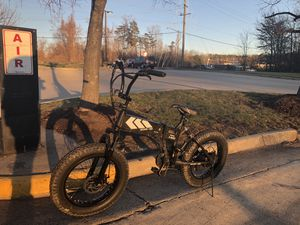 "Swagtron EB8 20"" fat tire folding electric bike for Sale in Woodbridge, VA"