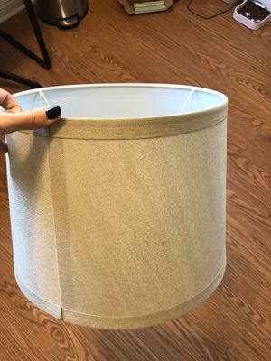Medium sized lamp shade for Sale in Anaheim, CA