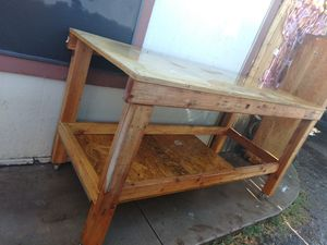 Wooden work table / bench for Sale in Glendale, AZ