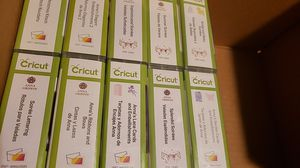 Assorted Cricut Cartridges for Sale in Warrenville, IL