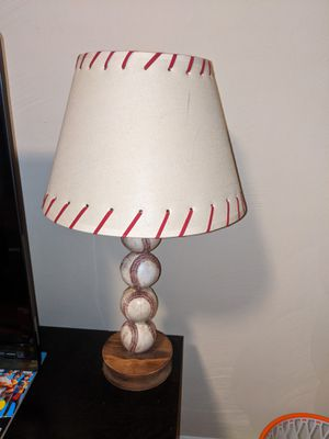 Baseball lamp for Sale in Portsmouth, VA