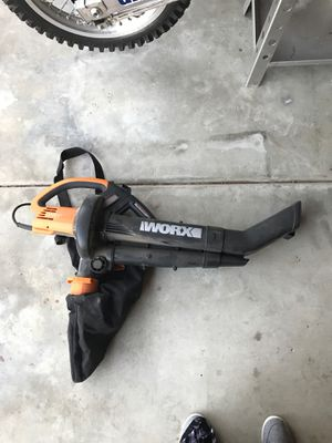 WORX 🍁 leaf blower/vacuum for Sale in Carlsbad, CA