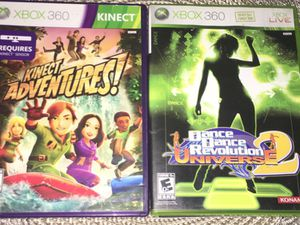 2 Kinect XBOX 360 games for Sale in Providence, RI