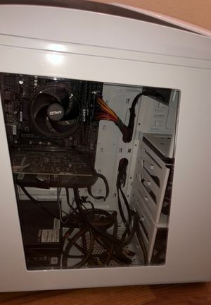 Gaming pc with 144hz monitor for Sale in Rancho Cucamonga, CA