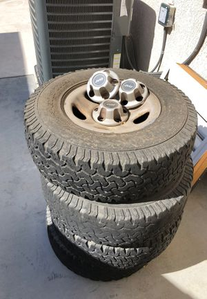Jeep wheels and tires for Sale in Corona, CA