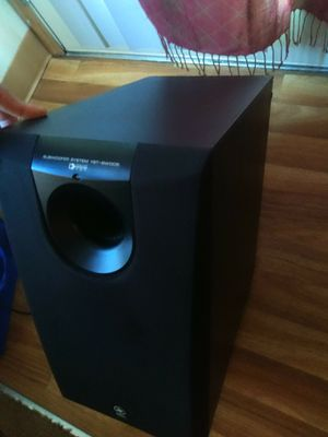 Yamaha sub woofer speaker for home with build in amp for Sale in Troutdale, OR