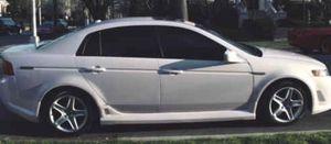 Small Price Sedan O5 Acura TL White Color for Sale in Houston, TX