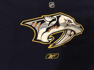 Nashville Predators Reebok XXL T-Shirt NHL Hockey - USED for Sale in Bartow, FL