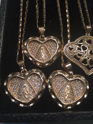 !!! Happy Valentines!!! Heart Caridad de Cobre Pendant With Chain Necklace for Sale in Nashville, TN