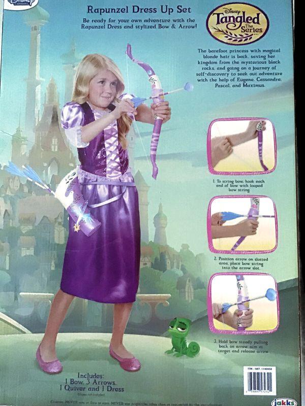 Rapunzel Dress Up Set