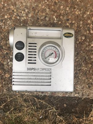 Portable air compressor with flashlight for Sale in Arlington, TX