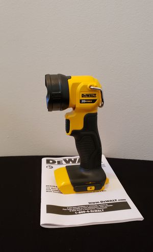 New Flash Light Dewalt ONLY TOOL NO CHARGER or BATTERIES FIRM PRICE for Sale in Woodbridge, VA