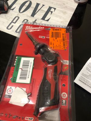 Milwaukee M12 12-Volt Lithium-Ion Cordless Soldering Iron (Tool-Only) for Sale in Dallas, TX