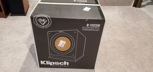Klipsch R-110SW subwoofer - NEW Never Opened for Sale in McKnight, PA