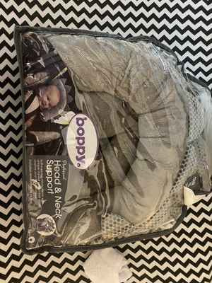 Boppy car seat cover insert and head stabilizer for Sale in Sebastian, FL